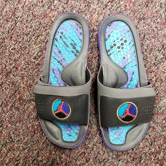 8382c07e216 Jordan Shoes | Never Worn Aqua 8 Slides | Poshmark